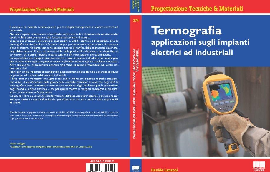 Libro termografia impianti elettrici