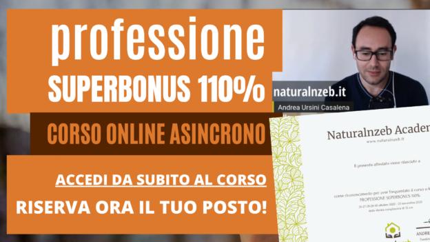 Professione Superbonus 110 Corso Online
