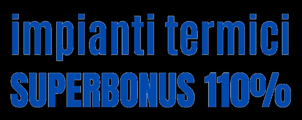 Impianti termici superbonus 110% corso online