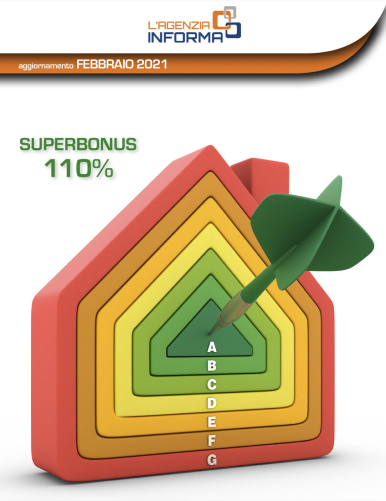 Guida superbonus 110% Agenzia delle Entrate Febbraio 2021