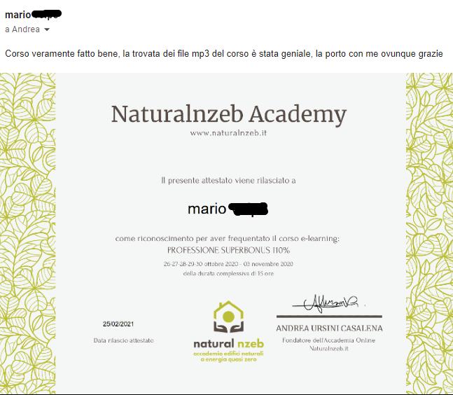 Naturalnzeb recensione corsi superbonus 110%