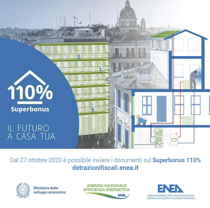 Opuscolo superbonus 110% ENEA