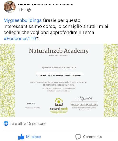 Recensione professione superbonus Maria Gabriella Combusti
