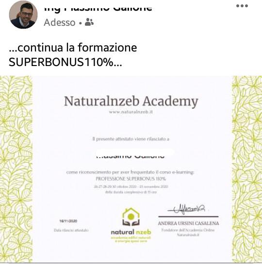 Recensione superbonus 110 Massimo Gallone