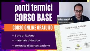 Ponti termici corso base online