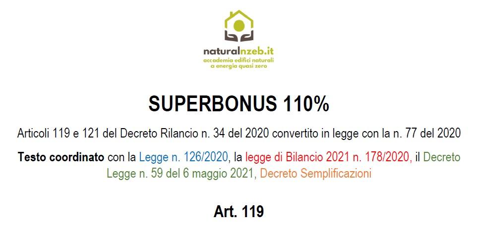 DL Semplificazioni e superbonus testo coordinato DL 34-2020