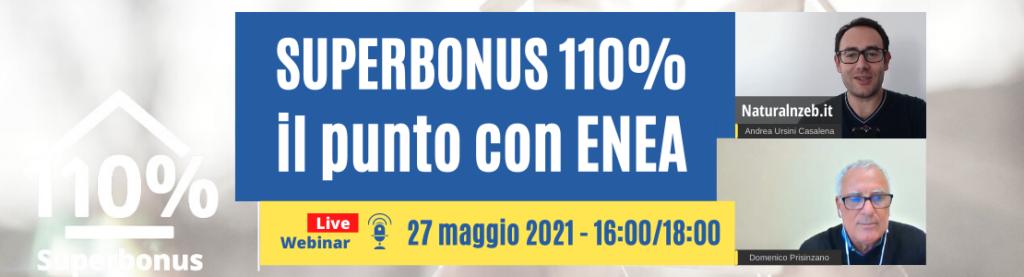 Superbonus 110 con Domenico Prisinzano di ENEA