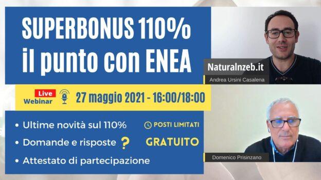 Superbonus 110 punto con Prisinzano ENEA