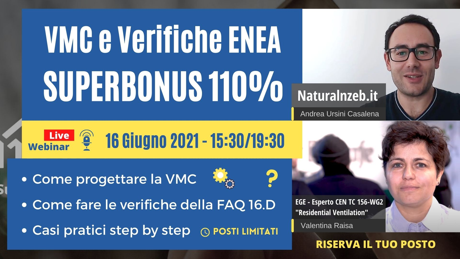 VMC Superbonus 110% Verifiche ENEA