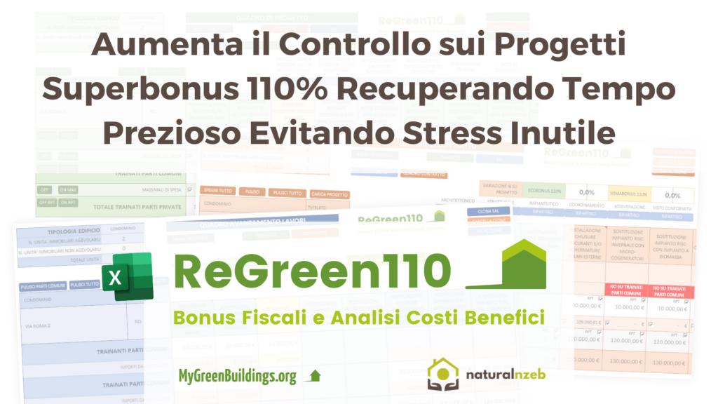 ReGreen110 foglio excel superbonus 110%