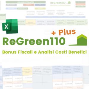ReGreen110 Plus bonus fiscali analisi costi benefici