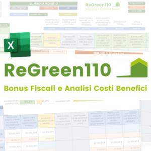 ReGreen110 bonus fiscali analisi costi benefici
