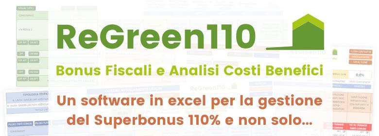 ReGreen110 superbonus 110 foglio excel
