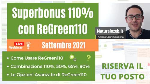 Webinar ReGreen110 settembre 2021